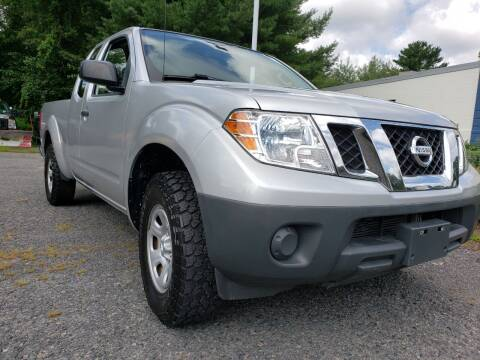 2013 Nissan Frontier for sale at Jacob's Auto Sales Inc in West Bridgewater MA