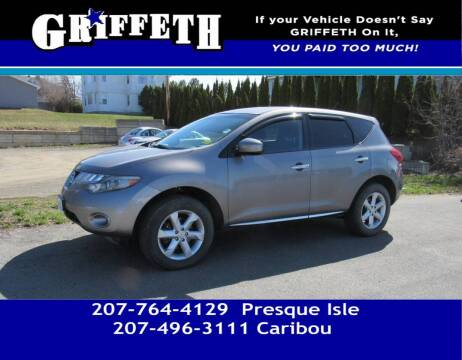 2010 Nissan Murano for sale at Griffeth Mitsubishi - Pre-owned in Caribou ME