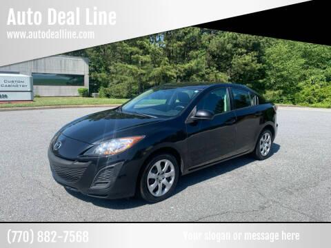 2011 Mazda MAZDA3 for sale at Auto Deal Line in Alpharetta GA