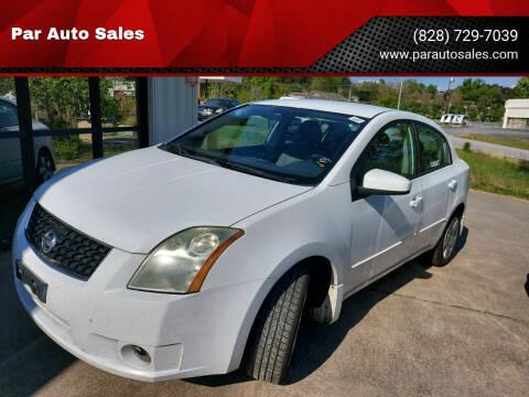2009 Nissan Sentra for sale at Par Auto Sales in Lenoir NC