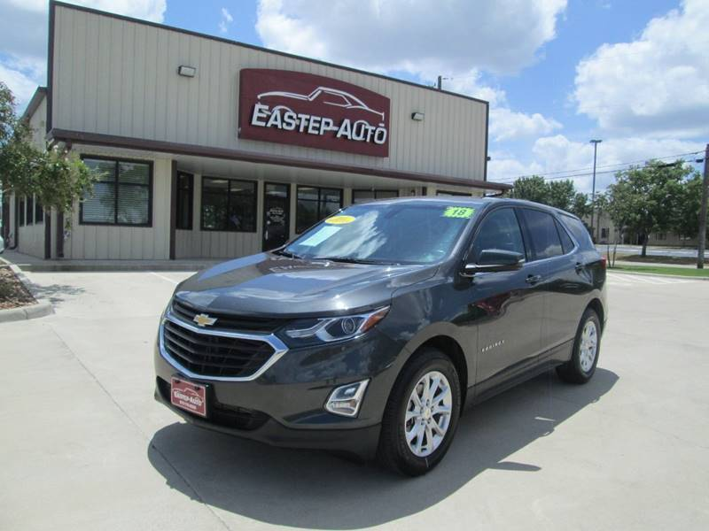 2018 Chevrolet Equinox for sale at Eastep Auto Sales in Bryan TX