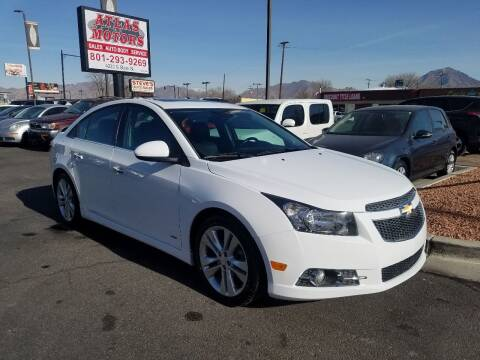 2014 Chevrolet Cruze for sale at ATLAS MOTORS INC in Salt Lake City UT