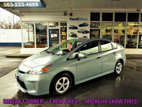 2015 Toyota Prius for sale at Powell Motors Inc in Portland OR