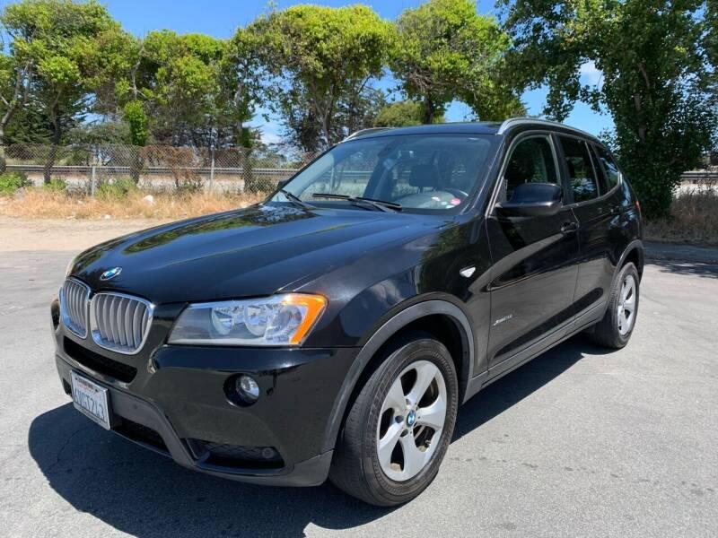 2012 BMW X3 for sale at Dodi Auto Sales in Monterey CA