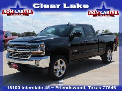 2018 Chevrolet Silverado 1500 for sale at Ron Carter  Clear Lake Used Cars in Houston TX