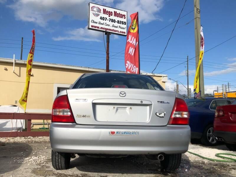 2000 Mazda Protege for sale at Mego Motors in Orlando FL