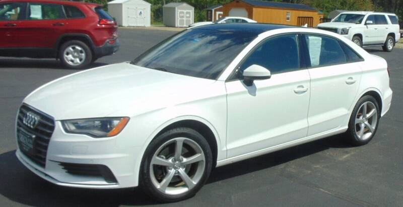 2016 Audi A3 for sale at Greg's Auto Sales in Searsport ME