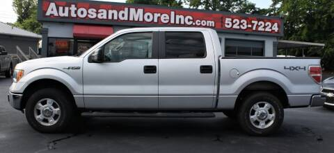 2010 Ford F-150 for sale at Autos and More Inc in Knoxville TN