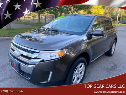 2011 Ford Edge for sale at Top Gear Cars LLC in Lynn MA