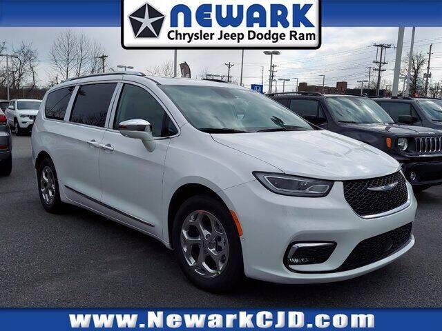 2021 Chrysler Pacifica Hybrid for sale at NEWARK CHRYSLER JEEP DODGE in Newark DE