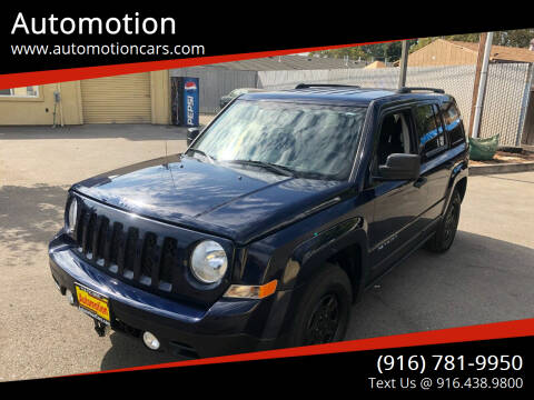 2014 Jeep Patriot for sale at Automotion in Roseville CA