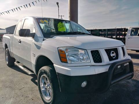 2004 Nissan Titan for sale at Kevs Auto Sales in Helena MT