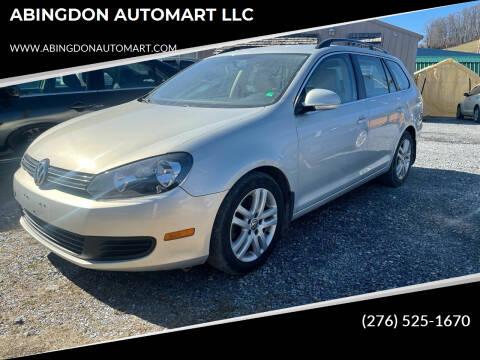 2012 Volkswagen Jetta for sale at ABINGDON AUTOMART LLC in Abingdon VA