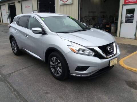 2017 Nissan Murano for sale at TRI-STATE AUTO OUTLET CORP in Hokah MN
