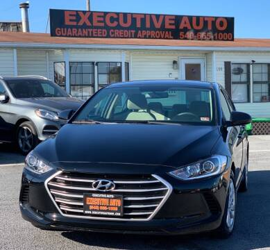 2018 Hyundai Elantra for sale at Executive Auto in Winchester VA