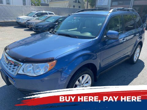2013 Subaru Forester for sale at Independent Auto Sales in Pawtucket RI