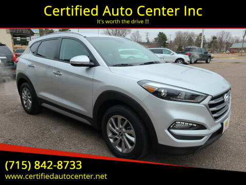 2018 Hyundai Tucson for sale at Certified Auto Center Inc in Wausau WI
