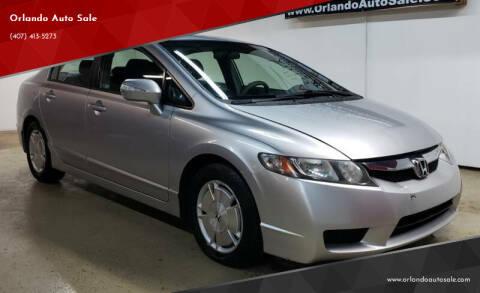 2009 Honda Civic for sale at Orlando Auto Sale in Orlando FL