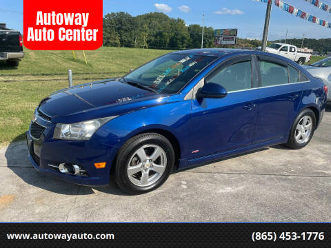 2012 Chevrolet Cruze for sale at Autoway Auto Center in Sevierville TN