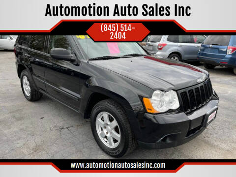 2009 Jeep Grand Cherokee for sale at Automotion Auto Sales Inc in Kingston NY