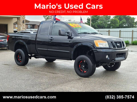 2012 Nissan Titan for sale at Mario's Used Cars - Pasadena Location in Pasadena TX