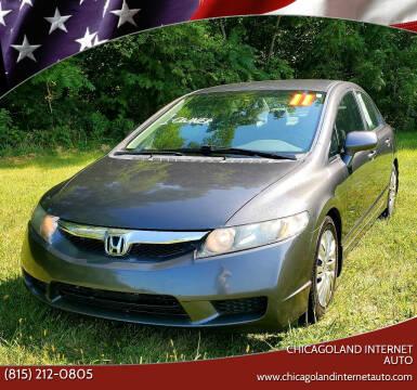 2011 Honda Civic for sale at Chicagoland Internet Auto - 410 N Vine St New Lenox IL, 60451 in New Lenox IL