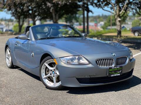 2007 BMW Z4 for sale at Lux Motors in Tacoma WA