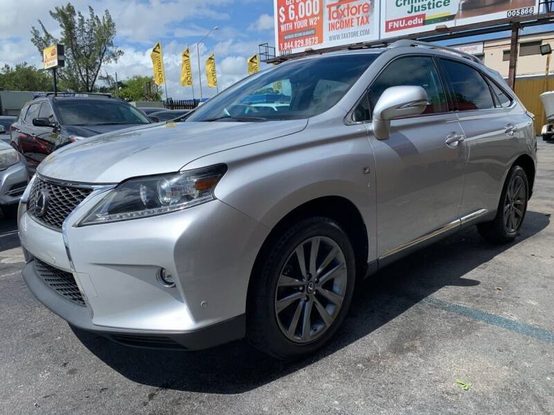 2015 Lexus RX 350 for sale at AUTO ALLIANCE LLC in Miami FL