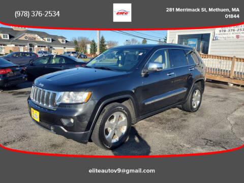 2011 Jeep Grand Cherokee for sale at ELITE AUTO SALES, INC in Methuen MA
