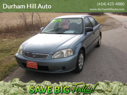 1999 Honda Civic for sale at Durham Hill Auto in Muskego WI