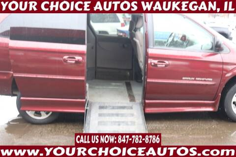 2001 Chrysler Town and Country for sale at Your Choice Autos - Waukegan in Waukegan IL