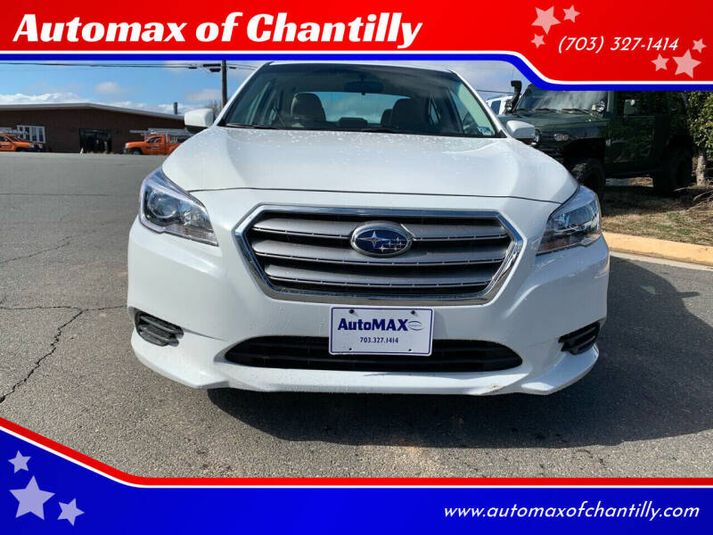 2017 Subaru Legacy for sale at Automax of Chantilly in Chantilly VA