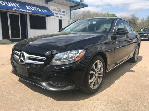 2016 Mercedes-Benz C-Class for sale at Discount Auto Company in Houston TX