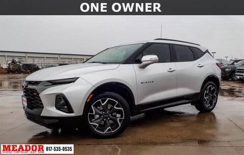 2020 Chevrolet Blazer for sale at Meador Dodge Chrysler Jeep RAM in Fort Worth TX