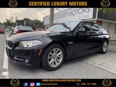 2016 BMW 5 Series for sale at Certified Luxury Motors in Great Neck NY