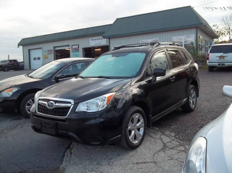 2015 Subaru Forester for sale at Warner's Auto Body of Granville Inc in Granville NY