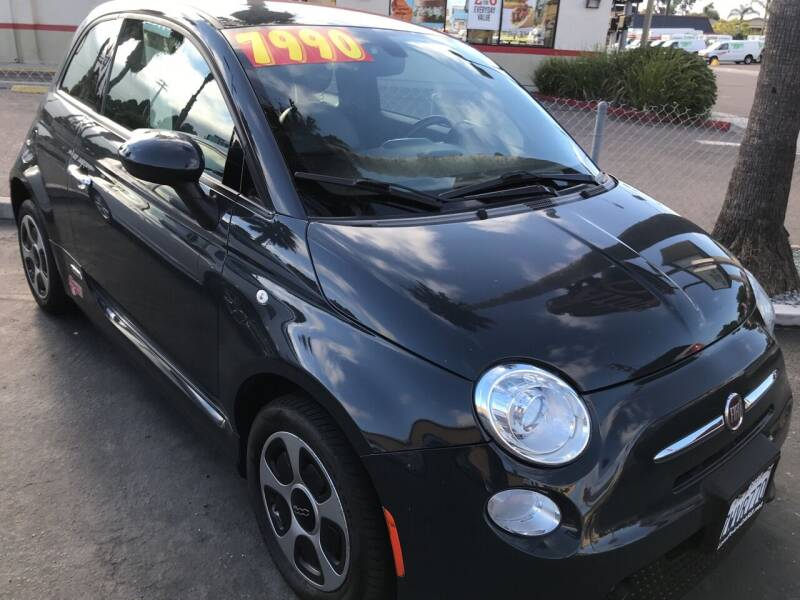 2017 FIAT 500e for sale at CARZ in San Diego CA