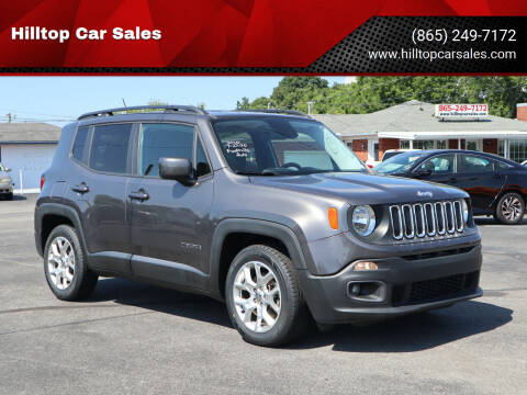 2017 Jeep Renegade for sale at Hilltop Car Sales in Knox TN
