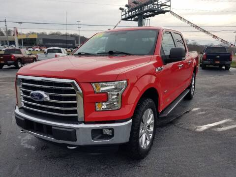 2015 Ford F-150 for sale at Moores Auto Sales in Greeneville TN