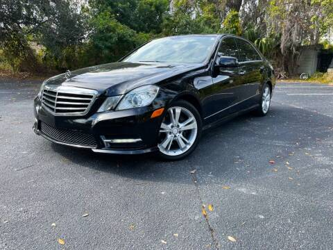 2013 Mercedes-Benz E-Class for sale at CARPORT SALES AND  LEASING in Oviedo FL