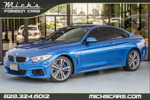 2014 BMW 4 Series for sale at Mich's Foreign Cars in Hickory NC