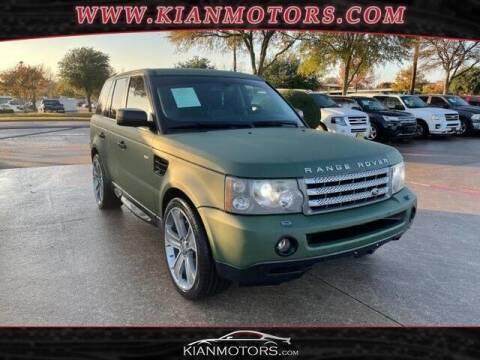 2009 Land Rover Range Rover Sport for sale at KIAN MOTORS INC in Plano TX