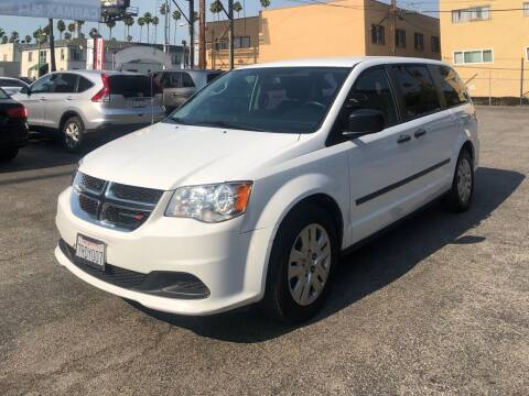 2016 Dodge Grand Caravan for sale at Eden Motor Group in Los Angeles CA