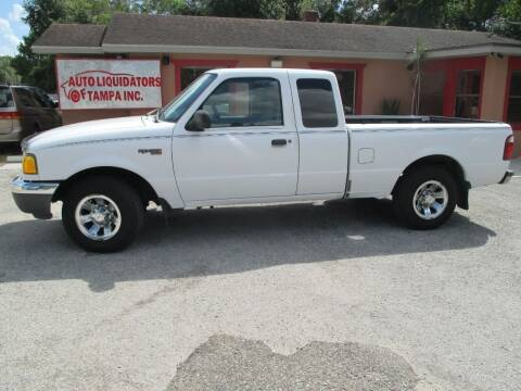 2001 Ford Ranger for sale at Auto Liquidators of Tampa in Tampa FL