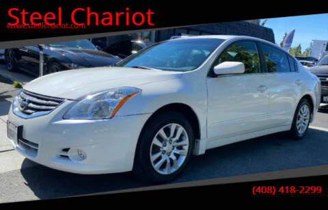 2012 Nissan Altima for sale at Steel Chariot in San Jose CA
