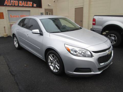 2014 Chevrolet Malibu for sale at Small Town Auto Sales in Hazleton PA