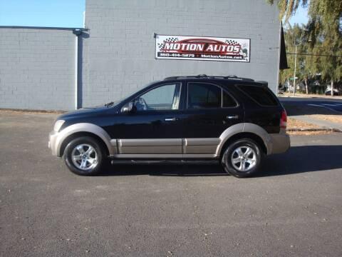 2004 Kia Sorento for sale at Motion Autos in Longview WA