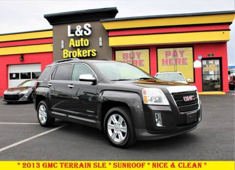 2013 GMC Terrain for sale at L & S AUTO BROKERS in Fredericksburg VA