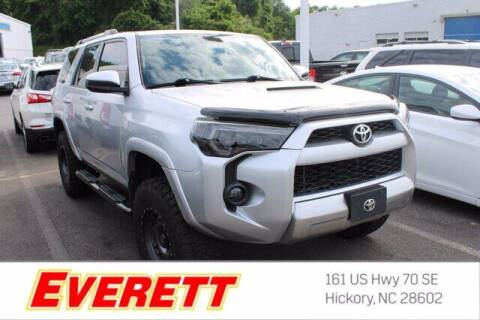 2017 Toyota 4Runner for sale at Everett Chevrolet Buick GMC in Hickory NC