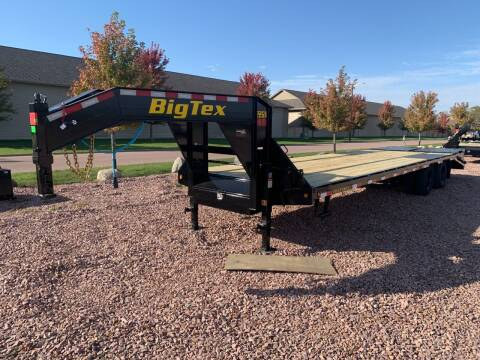 2022 Big Tex 22GN 25+5 Mega Ramp #9918 for sale at Prairie Wind Trailers, LLC in Harrisburg SD